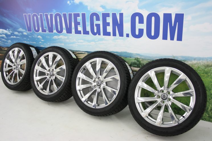 xc90-21inch-10spaak-polished-nokian-winterbanden-1